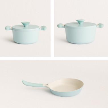 Buy Set of kitchenware - 2 UMA pots + 1 NOA pan