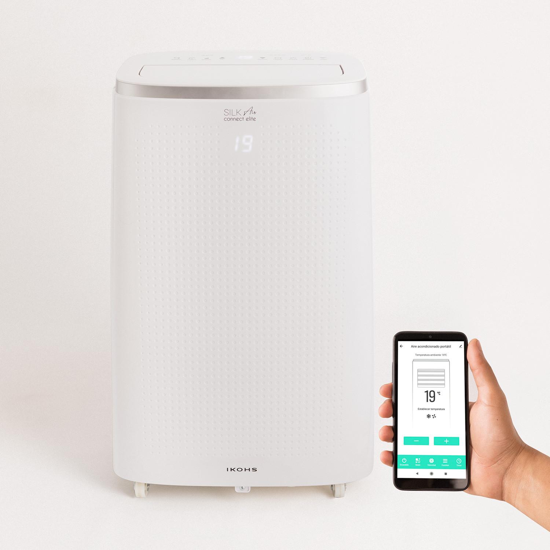 SILKAIR CONNECT ELITE- Portable Air  Conditioner 4 in 1 WifI 12000 BTU with heat pump, imagen de galería 1