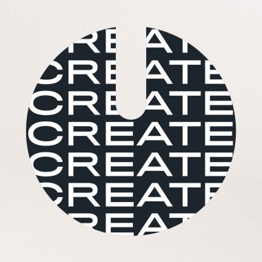 Buy Vinyl sticker CREATE S18