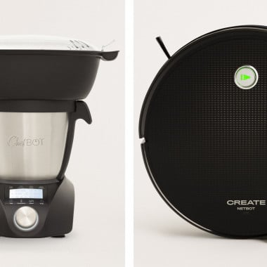 Buy Pack - CHEFBOT COMPACT STEAMPRO Kitchen Robot +NETBOT S15 2.0  Smart Vacuum Cleaning Robot