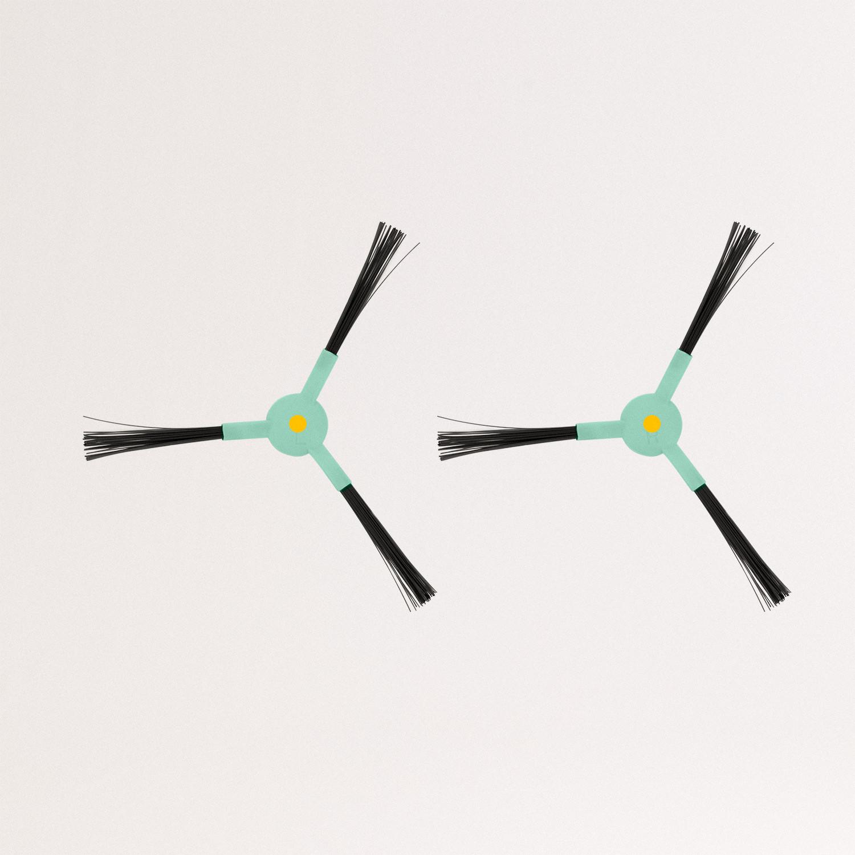 Pack of 2 brushes for NETBOT S14 / S15 - Side brush x 1 left, x 1 right, imagen de galería 955378