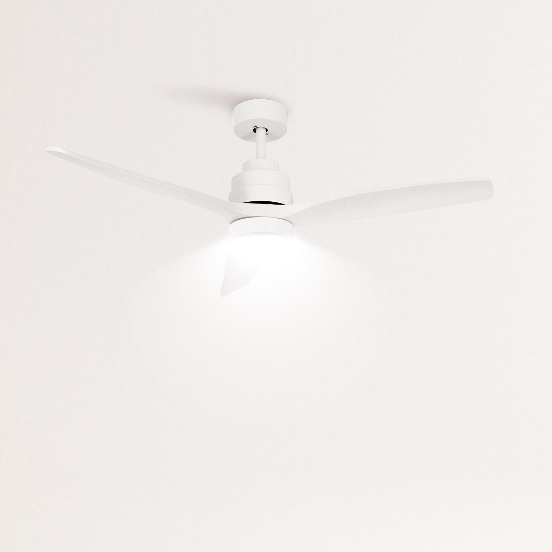 WINDLIGHT WHITE - Ventilador de Techo 40W DC Reverse con Luz , imagen de galería 1