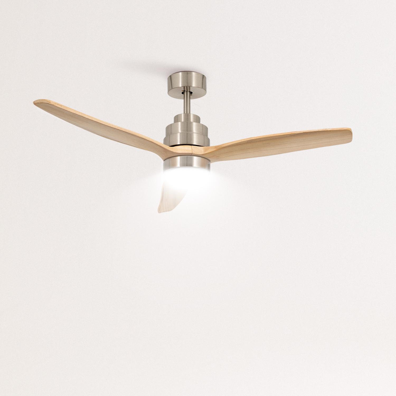 WINDLIGHT NICKEL - Ventilador de Techo 40W DC Reverse con Luz , imagen de galería 1