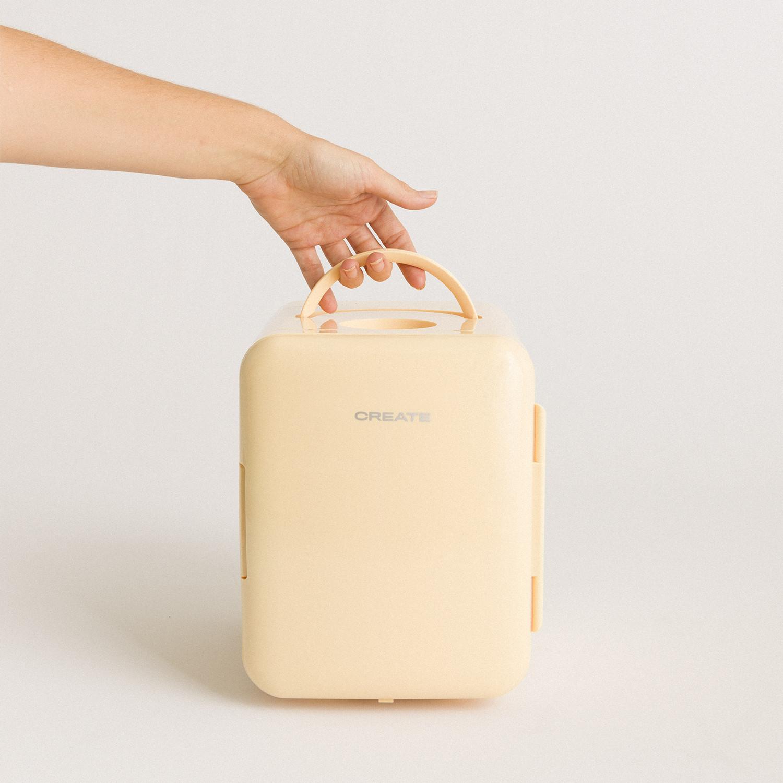 FRIDGE MINI BOX - Mini frigorífico para cosméticos 4L - Frío y calor, imagen de galería 1