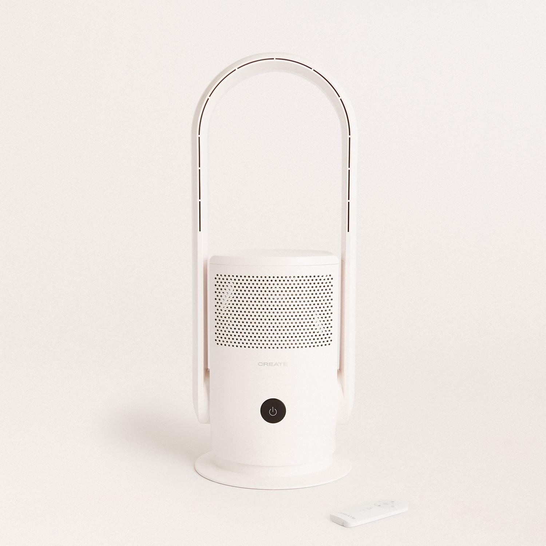 AIR PURE STUDIO - Purificador ventilador sin aspas con HEPA H13 y WiFi, imagen de galería 1