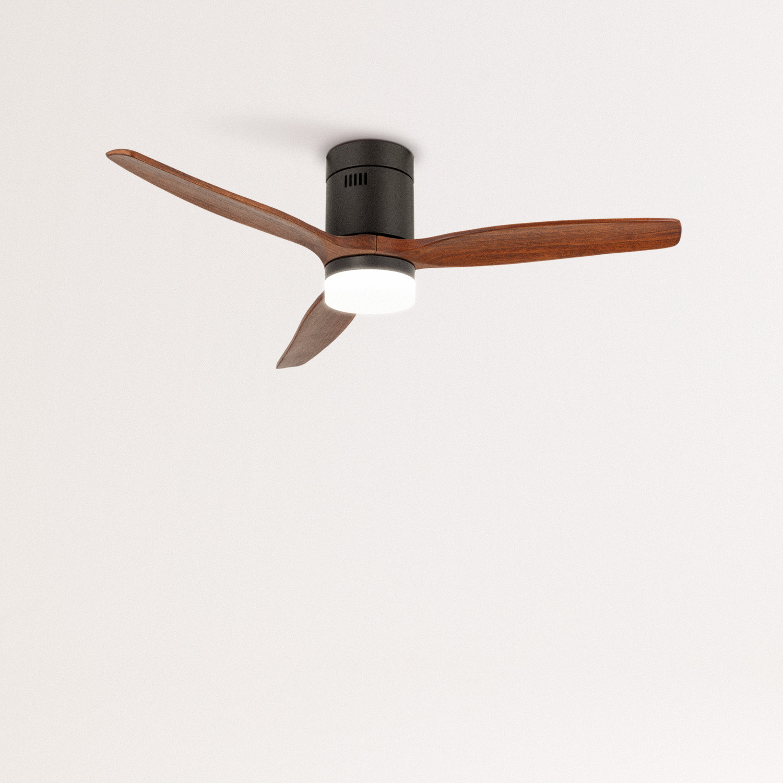 LIGHTCALM BLACK - Ventilador de Techo 40W DC Reverse con Luz , imagen de galería 1