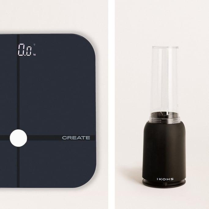 Pack - Báscula BALANCE BODY SMART + Batidora con Vaso Portátil MOI SLIM, imagen de galería 1