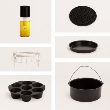Comprar Pack de accesorios de cocina para Freidora de Aire  FRYER AIR SMART 5,5L