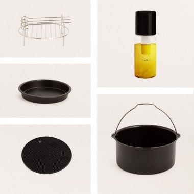 Comprar Pack de accesorios de cocina para Freidora de Aire  FRYER AIR PRO 3,5L