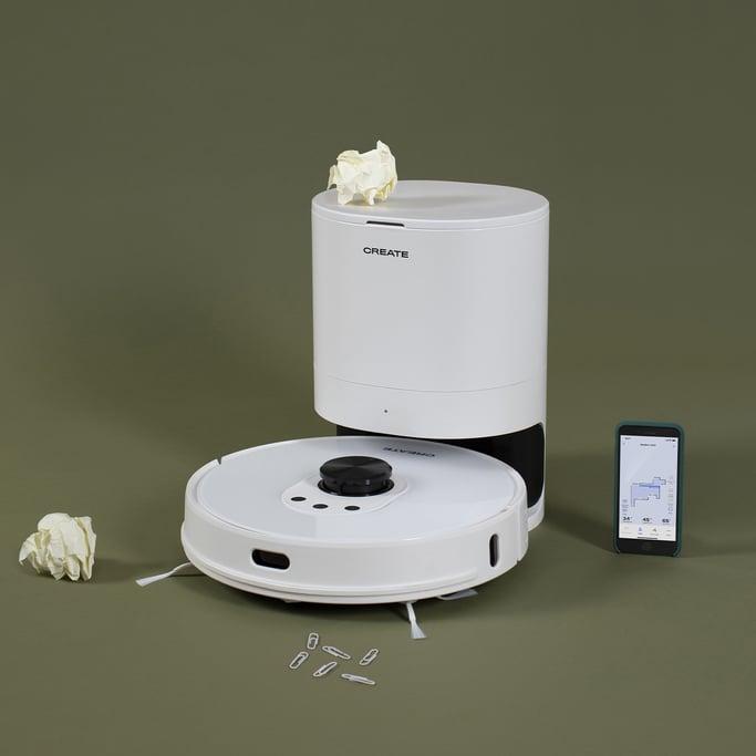 NETBOT LS27 - Robot aspirador láser inteligente con base de autodescarga - 2700Pa, imagen de galería 1