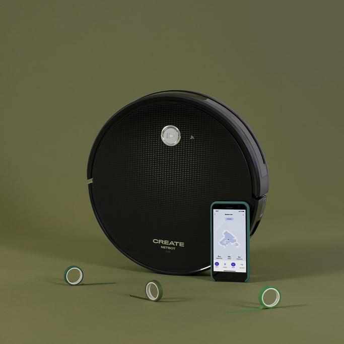 NETBOT S15 2.0 - Robot Aspirador Friegasuelos NUEVA APP - 1500 Pa, imagen de galería 1
