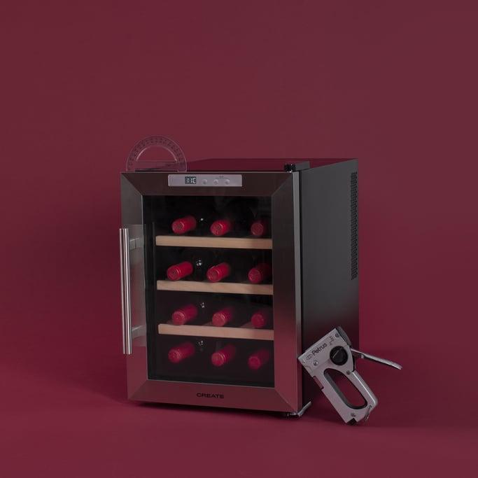 WINECOOLER WOOD M - Vinoteca de 12 botellas, imagen de galería 1