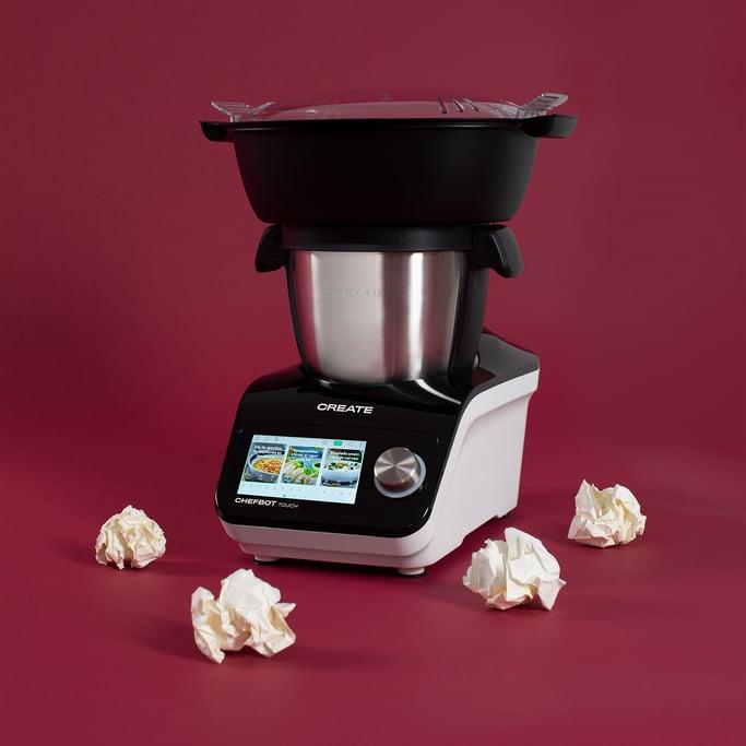 CHEFBOT TOUCH - Robot de cocina inteligente + Cesta Vaporera, imagen de galería 1