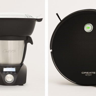 Comprar Pack - CHEFBOT COMPACT STEAMPRO Robot de cocina + NETBOT S15 2.0  Robot Aspirador