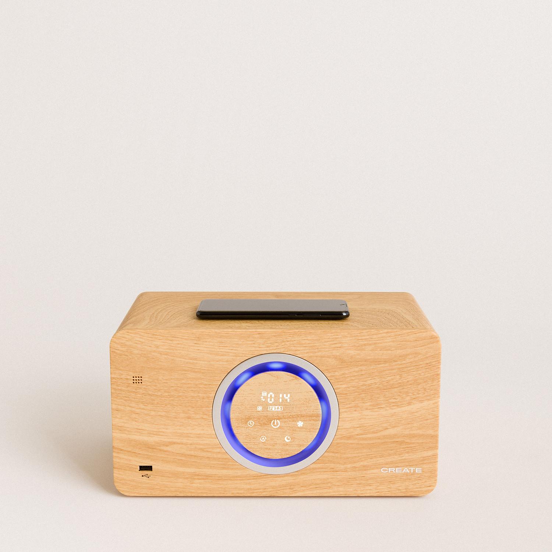 AIR PURE COMPACT - Purificatore d'aria con altoparlante bluetooth e caricatore wireless, imagen de galería 1