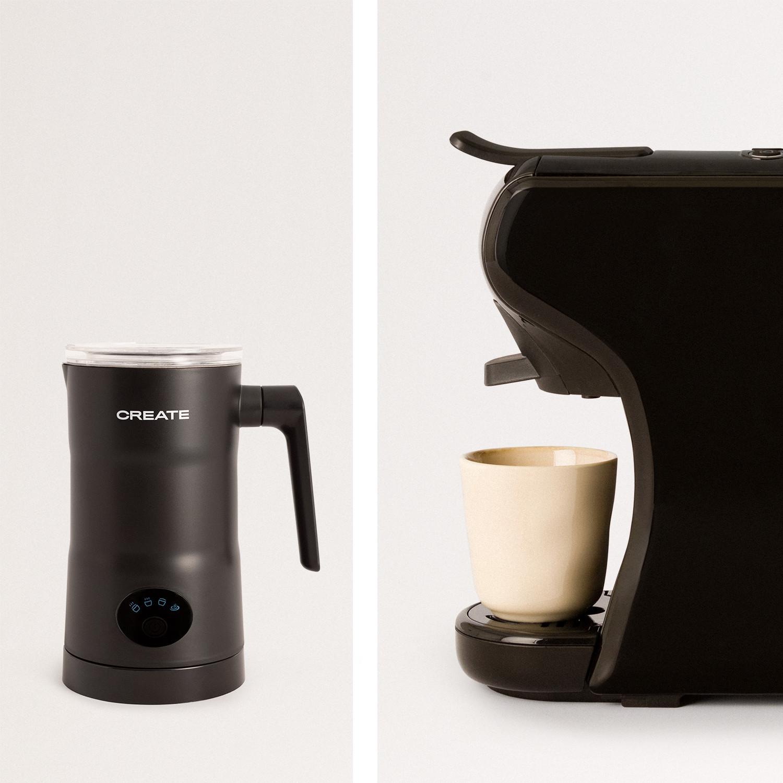 PACK - POTTS Multi-capsule espresso machine + MILKFROTHER PRO Milk and chocolate warmer frother, imagen de galería 1