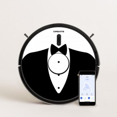 Buy PACK - NETBOT LS23 ENDURANCE Robot Laser Vacuum Cleaner + Vinyl design