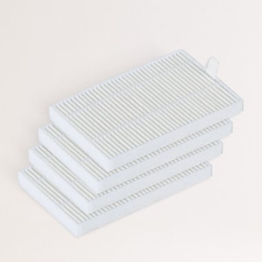 Buy Pack of 4 HEPA Filters for NETBOT LS23 - Smart Vacuum Cleaning Robot