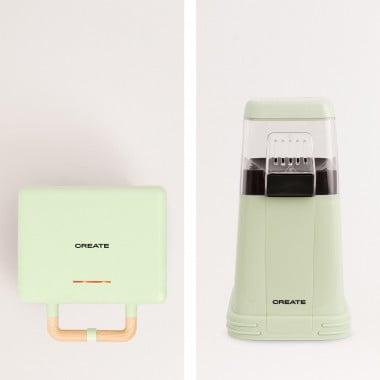 Buy PACK - POPCORN MAKER + STONE 3 IN 1 STUDIO -  Sandwich and Waffle Maker