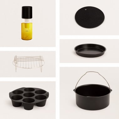 Buy Kitchen accessories pack for FRYER AIR SMART 5.5L Air Fryer