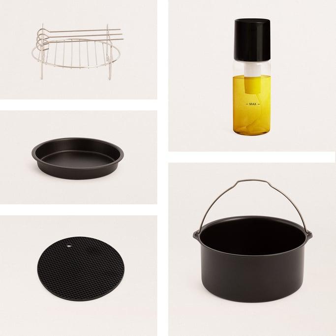 Kitchen accessories pack for FRYER AIR PRO 3.5L Air Fryer, imagen de galería 1