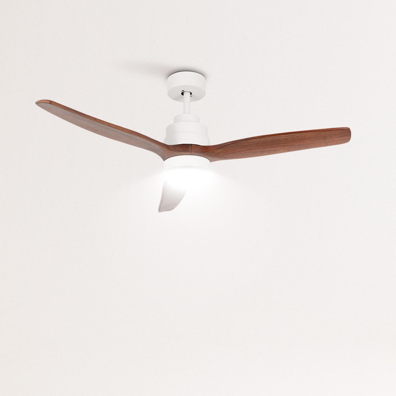 WINDLIGHT WHITE - Ceiling fan 40W DC Reverse with Light, imagen de galería 1