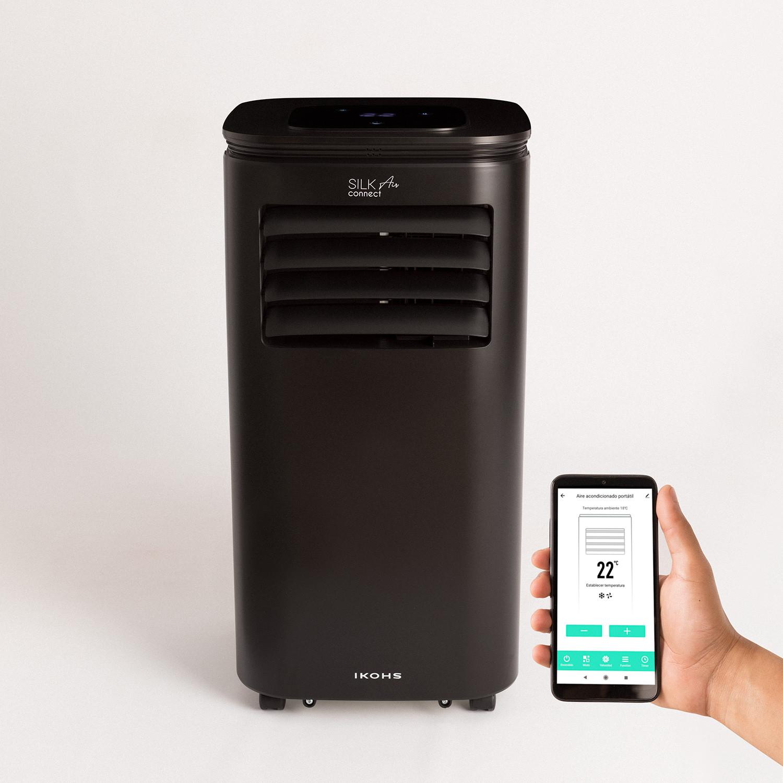 SILKAIR CONNECT - Portable Air Conditioner 3 in 1 WiFi 9000 BTU, imagen de galería 1