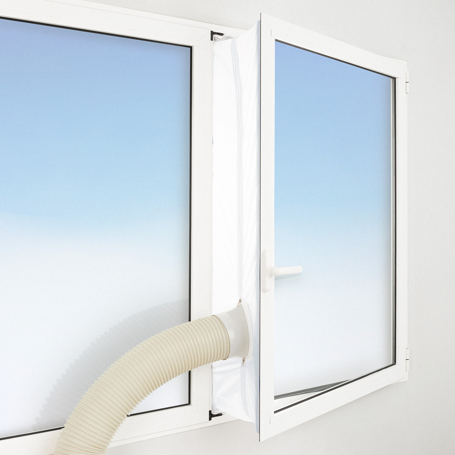 DRAWING WINDOWS REMOVAL AND INSULATION KIT FOR PORTABLE AIR CONDITIONERS, imagen de galería 1