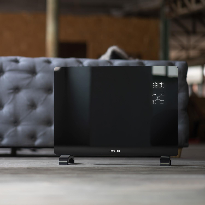 EVERWARM GPH1500 Wifi - Glass convection heater, imagen de galería 1