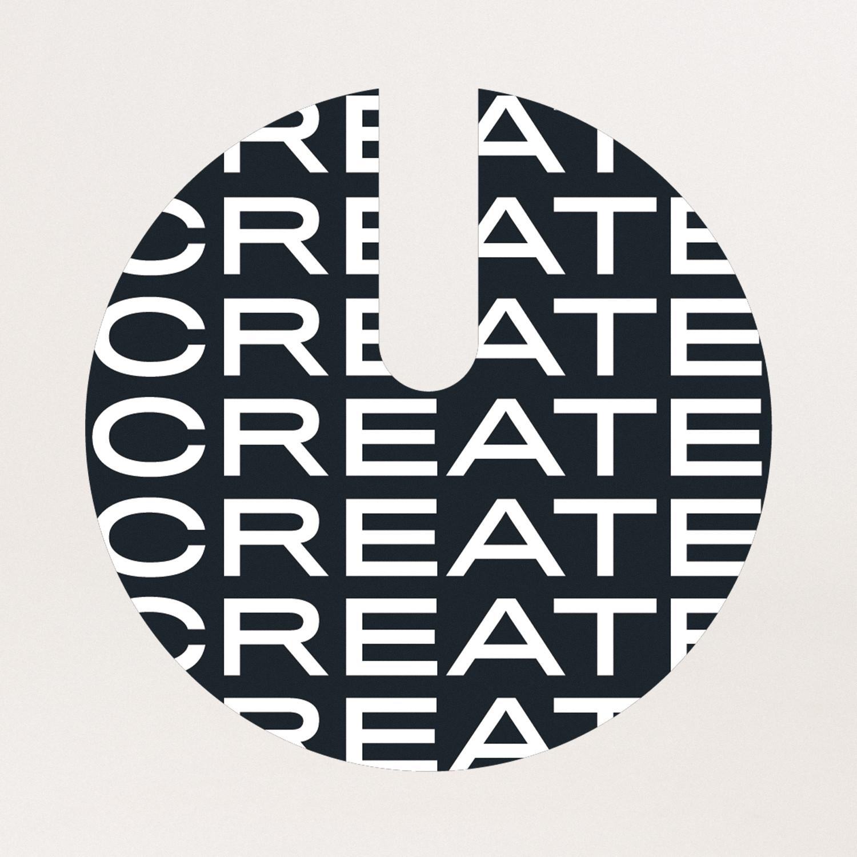 Vinyl sticker CREATE S18, imagen de galería 1