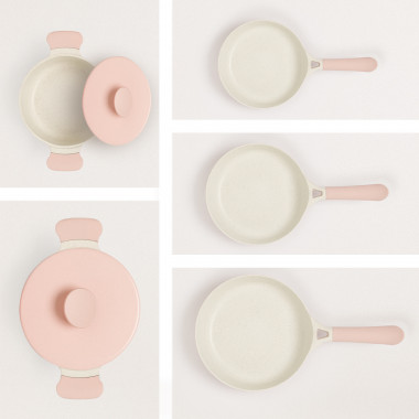 Buy HOUSEHOLD PACK of 2 POTS AND 3 PANS