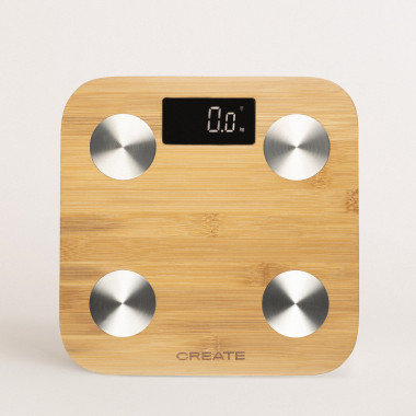 Buy BALANCE BODY BAMBOO SMART - Bamboo bioimpedance bathroom scale
