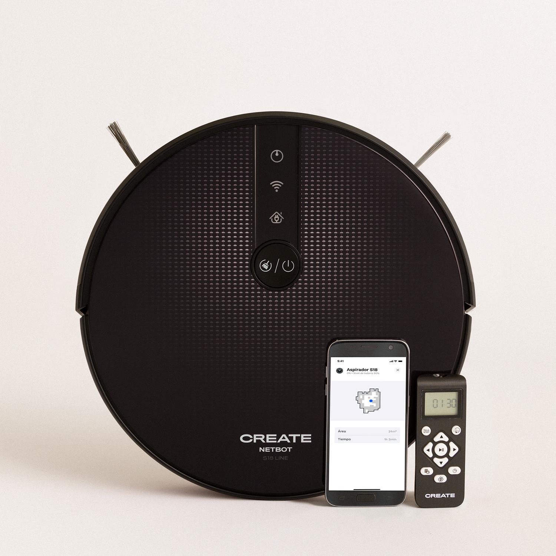 NETBOT S18 - Smart Vacuum Cleaning Robot - 1800 Pa, imagen de galería 1